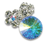 Swarovski Multi Color Jewel Charm
