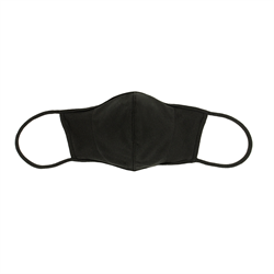 Face Mask Reusable Fabric Black(Large)