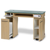 Additional images for LA ROSE Manicure Table Single - TRUFFLE