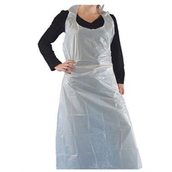 "Disposable Apron 28""x46"", 100pc/bag"