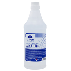 La Palm Alcohol 70% USP 32 oz
